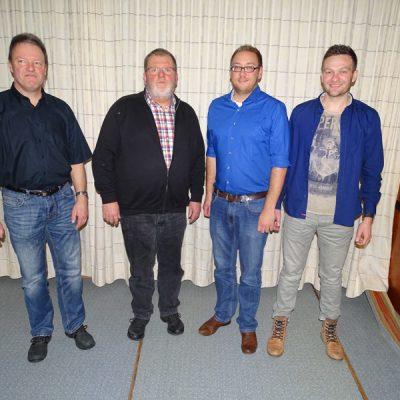 Volker Müller, Klaus Schneider, Timo Herrmann, Andreas Buchholz
