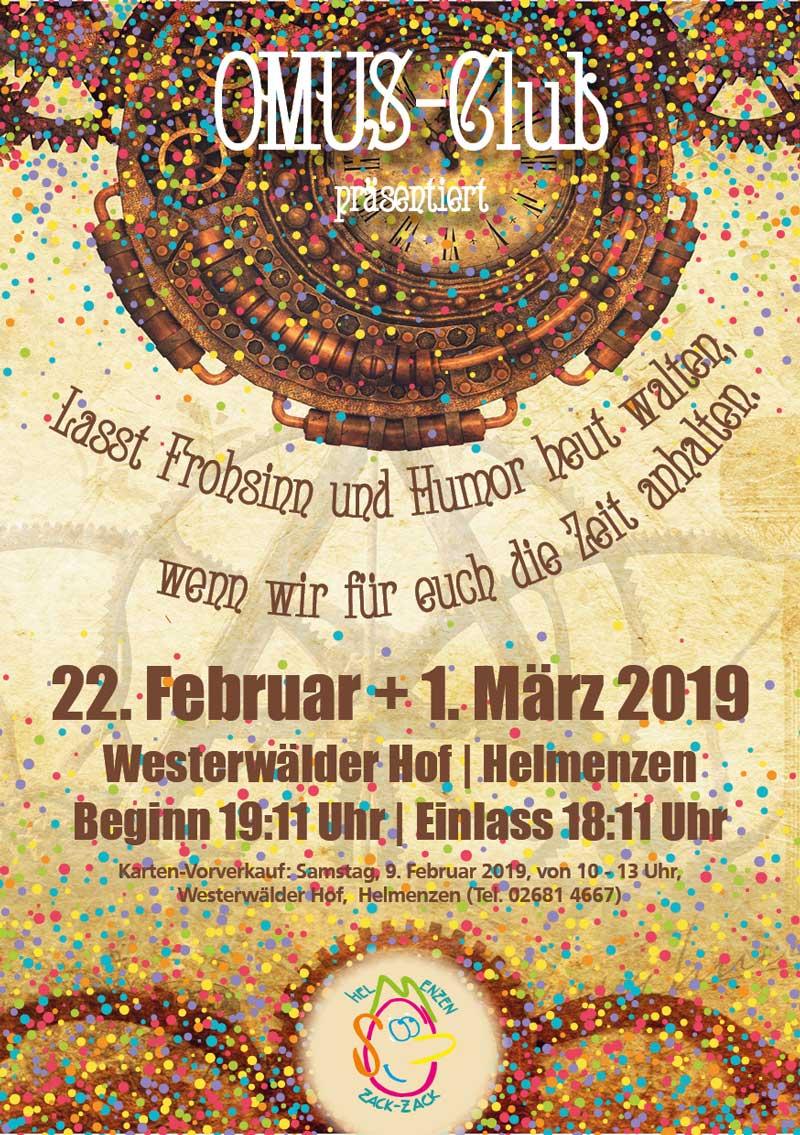 Karnevalsitzung, OMUS Helmenzen @ Landgasthaus Westerwälder Hof | Helmenzen | Rheinland-Pfalz | Deutschland