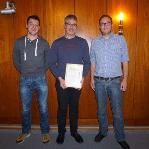 Verabschiedung: Matthias Müller, Frank Pfeifer, Timo Herrmann